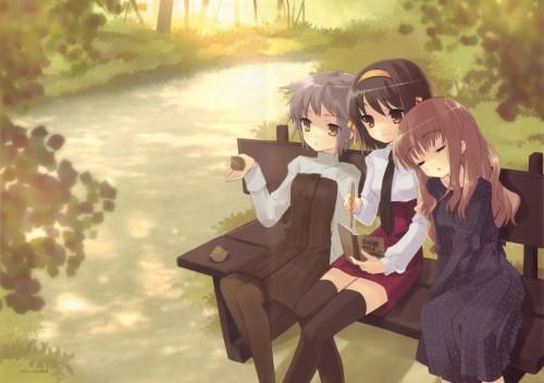 Noizi Ito, Kyoto Animation, The Melancholy of Suzumiya Haruhi, Mikuru Asahina, Yuki Nagato