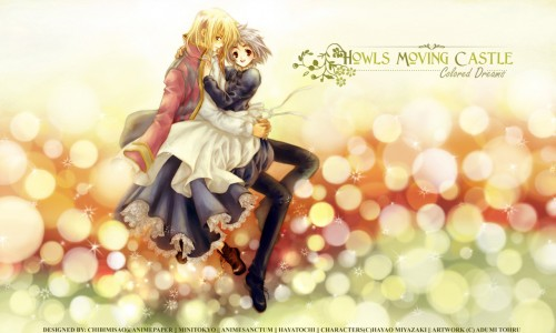Adumi Tohru, Howl's Moving Castle, Howl Jenkins, Sophie Hatter Wallpaper