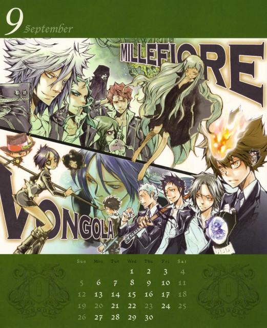 Akira Amano, Artland, Katekyo Hitman Reborn!, Ryohei Sasagawa, Leon (Katekyo Hitman Reborn!)