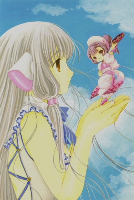 CLAMP, Chobits, Your Eyes Only, Sumomo, Chii