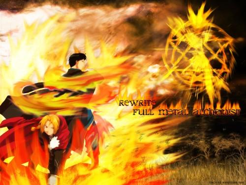 Hiromu Arakawa, BONES, Fullmetal Alchemist, Roy Mustang, Edward Elric Wallpaper
