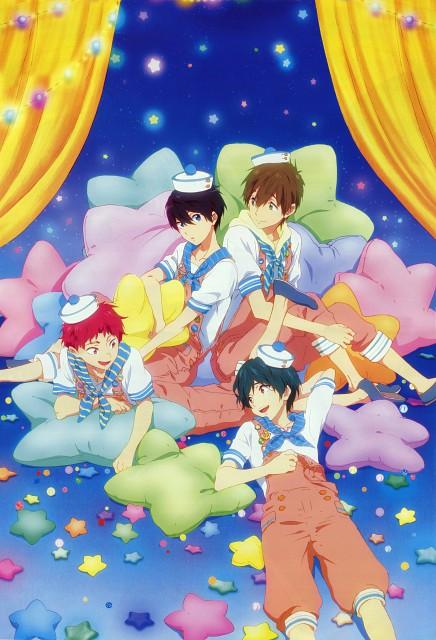 Sae Sawada, Kyoto Animation, Free!, Asahi Shiina, Ikuya Kirishima