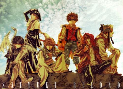 Kazuya Minekura, Studio Pierrot, Saiyuki, Hazel Grouse, Cho Hakkai