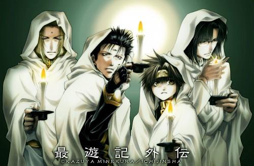 Kazuya Minekura, Saiyuki Gaiden, Son Goku (Saiyuki), Tenpou Gensui, Kenren Taishou