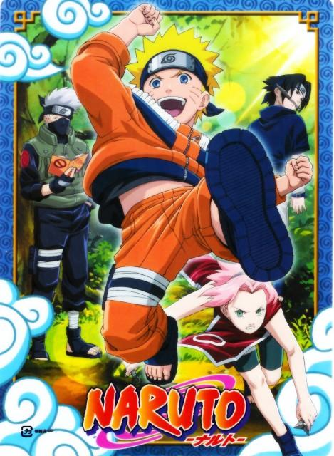 Studio Pierrot, Naruto, Kakashi Hatake, Sakura Haruno, Naruto Uzumaki
