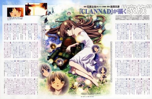 Kyoto Animation, Clannad, Ryou Fujibayashi, Mei Sunohara, Fuko Ibuki