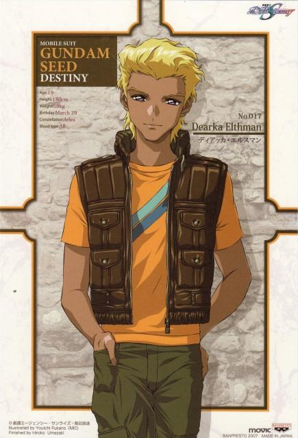 Youichi Fukano, Sunrise (Studio), Mobile Suit Gundam SEED Destiny, Dearka Elthman