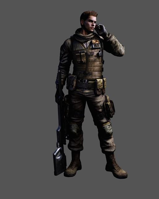 Capcom, Resident Evil 6, Piers Nivans, Official Digital Art