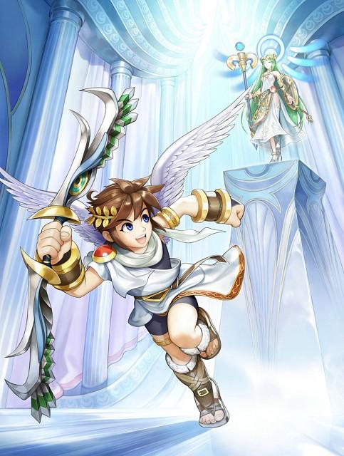 Nintendo, Kid Icarus, Palutena, Pit (Kid Icarus)