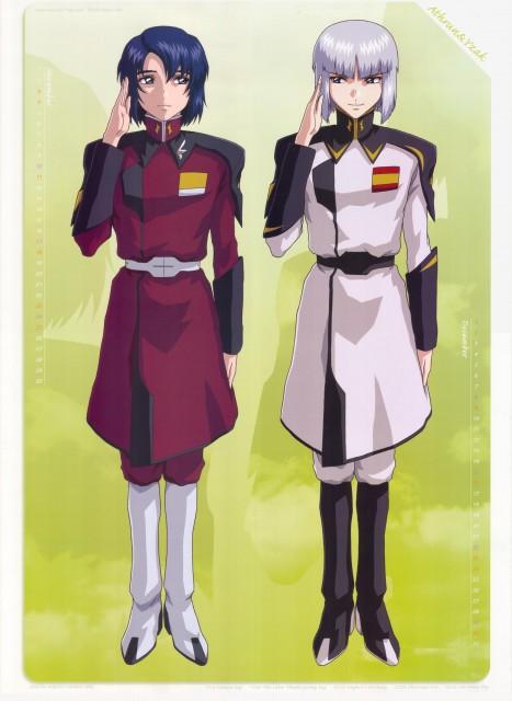 Sunrise (Studio), Mobile Suit Gundam SEED Destiny, Gundam SEED Destiny 2007 Calendar, Yzak Joule, Athrun Zala