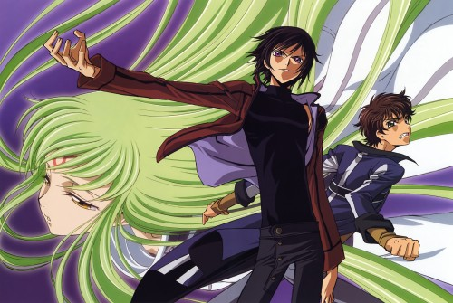 Takahiro Kimura, Sunrise (Studio), Lelouch of the Rebellion, Code Geass Ilustrations Rebels, Lelouch Lamperouge