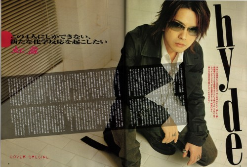 Hyde (J-Pop Idol), Magazine Page