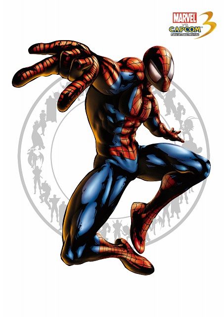 Marvel, Capcom, Marvel vs Capcom 3, Spiderman (Character)