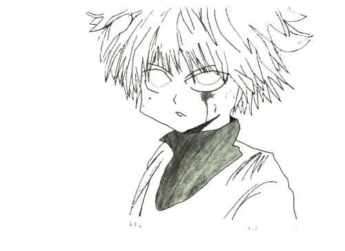 Yoshihiro Togashi, Hunter x Hunter, Killua Zaoldyeck, Member Art