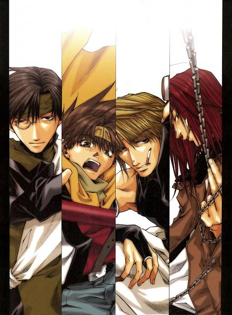 Kazuya Minekura, Studio Pierrot, Saiyuki, Salty Dog IV, Sha Gojyo