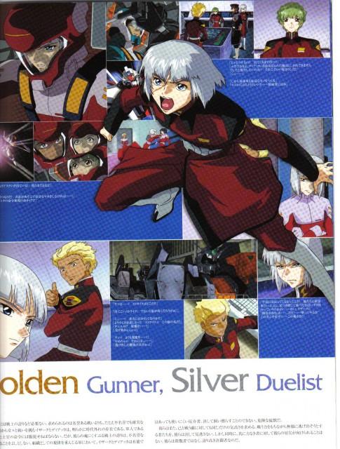Hisashi Hirai, Sunrise (Studio), Mobile Suit Gundam SEED, Yzak Joule