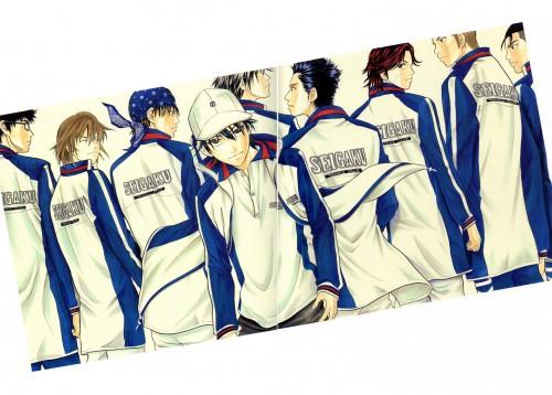 Takeshi Konomi, J.C. Staff, Prince of Tennis, Takeshi Momoshiro, Sadaharu Inui