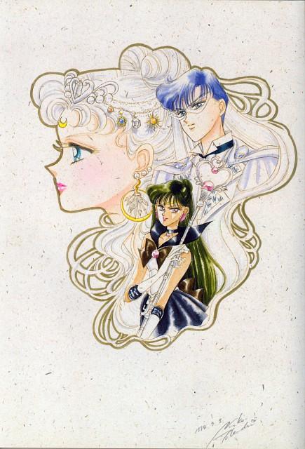 Naoko Takeuchi, Bishoujo Senshi Sailor Moon, BSSM Original Picture Collection Vol. II, Neo-Queen Serenity, King Endymion