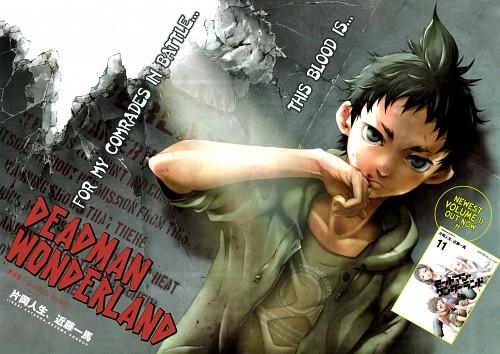Kazuma Kondou, Manglobe, Deadman Wonderland, Sorae Igarashi, Shiro