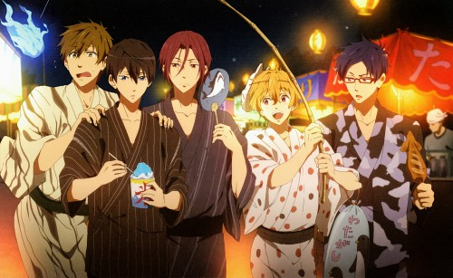 Kyoto Animation, Free!, Free! Illustration WORKS, Haruka Nanase (Free!), Nagisa Hazuki