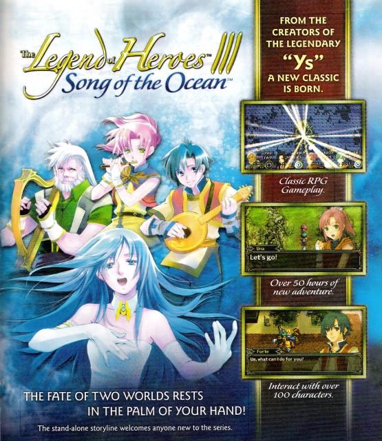 The Legend of Heroes III: Song of the Ocean, Forte (The Legend of Heroes), Una (The Legend of Heroes)
