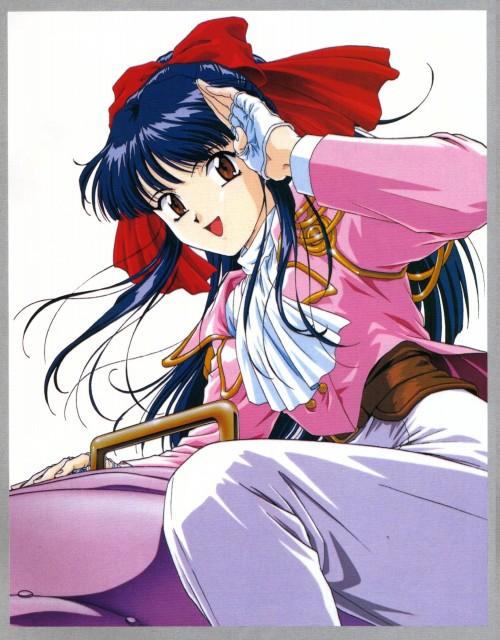Kousuke Fujishima, Sega, Sakura Wars, Sakura Shinguji, Animage