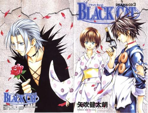 Kentaro Yabuki, Black Cat, Creed Diskenth, Train Heartnet, Saya Minatsuki