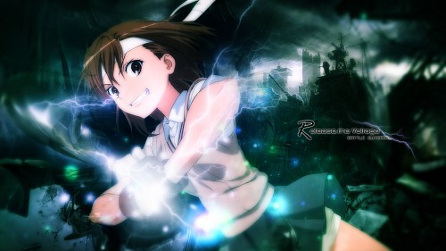 To Aru Kagaku No Railgun Wallpaper Release The Voltage 4v