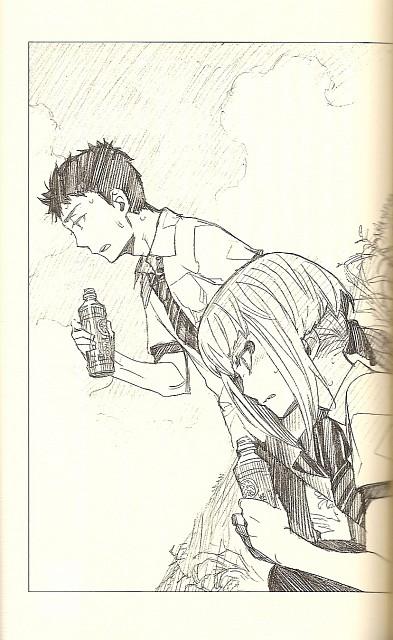 Kazue Katou, Ao no Exorcist, Juuzou Shima, Mamushi Houjou