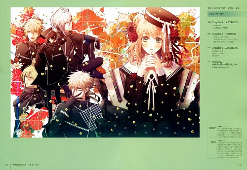 Mai Hanamura, Idea Factory, Translucent - Hanamura Mai Artbook, AMNESIA, Shin (AMNESIA)