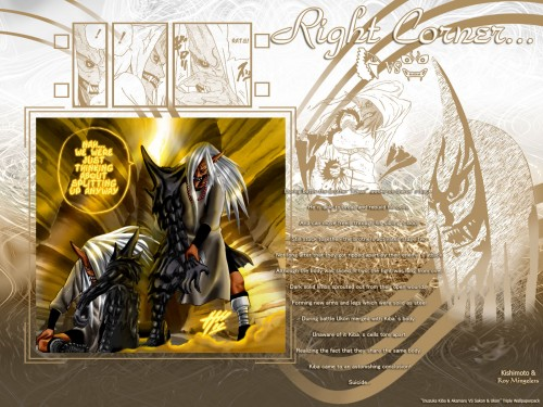 Masashi Kishimoto, Studio Pierrot, Naruto, Sakon and Ukon Wallpaper