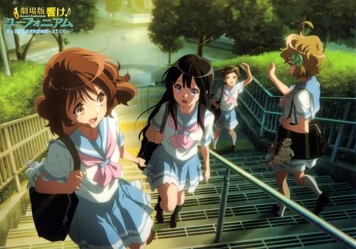 Pony Canyon, Kyoto Animation, Hibike! Euphonium, Sapphire Kawashima, Kumiko Oumae