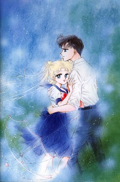Naoko Takeuchi, Bishoujo Senshi Sailor Moon, BSSM Original Picture Collection Vol. I, Mamoru Chiba, Usagi Tsukino