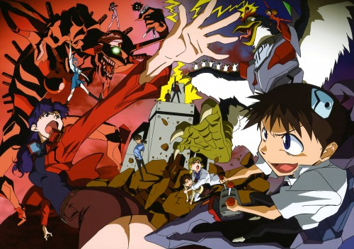 Masayuki Yamaguchi, Gainax, Khara, Neon Genesis Evangelion, Neon Genesis Evangelion - 03-2010 - 02-2011 Khara Calendar