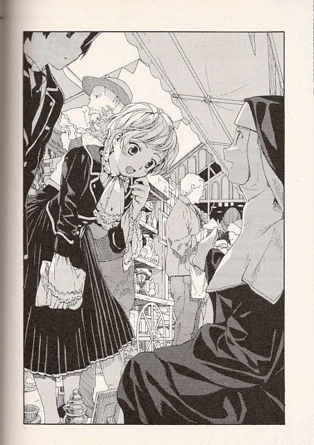 Hinata Takeda, BONES, Gosick, Kazuya Kujo, Avril Bradley