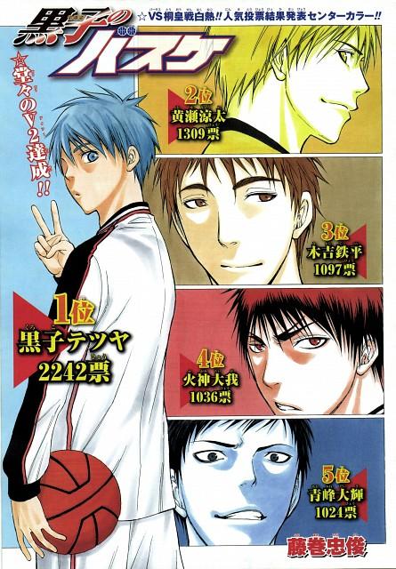 Tadatoshi Fujimaki, Kuroko no Basket, Teppei Kiyoshi, Ryouta Kise, Daiki Aomine