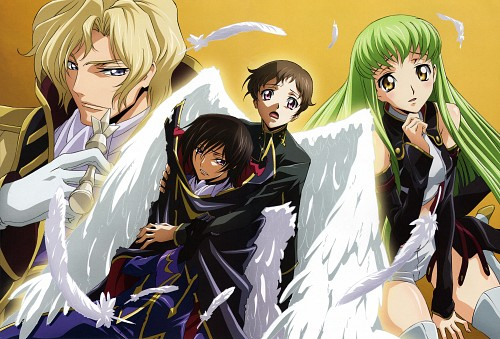 Takahiro Kimura, Sunrise (Studio), Lelouch of the Rebellion, Code Geass Illustrations Relation, Rolo Lamperouge