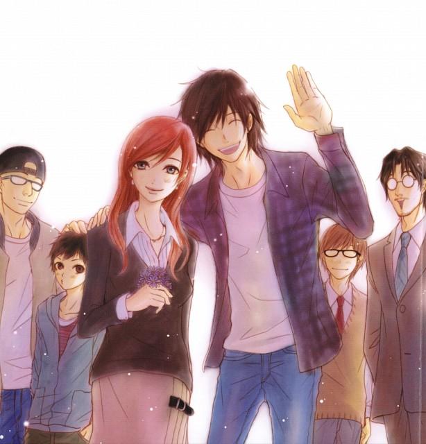 Kyousuke Motomi, Dengeki Daisy, Kiyoshi Hasegawa, Masuda, Souichirou Kurebayashi