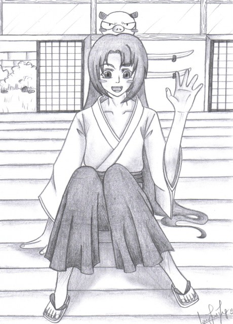 Peacemaker Kurogane, Souji Okita (Peacemaker Kurogane), Saizo, Member Art