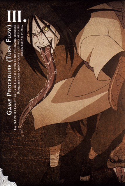Studio Pierrot, Naruto, Orochimaru, Trading Cards