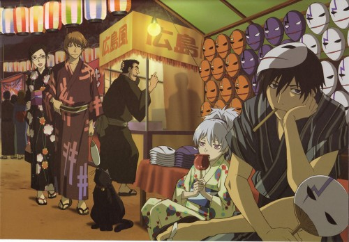 Yuji Iwahara, BONES, Darker than Black, Yusuke Saito, Mao