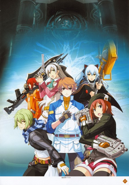 Falcom, The Legend of Heroes Illustration Artbook, The Legend of Heroes: Ao no Kiseki, The Legend of Heroes: Zero no Kiseki, Randy Orlando