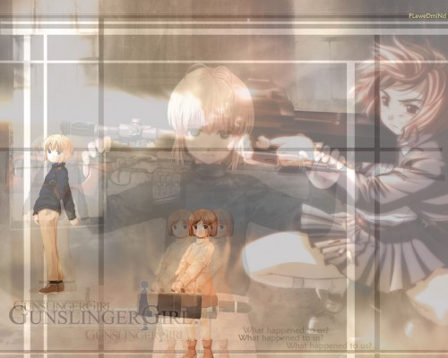 Madhouse, Gunslinger Girl, Rico (Gunslinger Girl), Henrietta Wallpaper