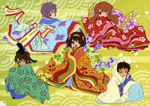 Kyoto Animation, The Melancholy of Suzumiya Haruhi, Suzumiya Haruhi Mini Illustration Book, Haruhi Suzumiya, Kyon