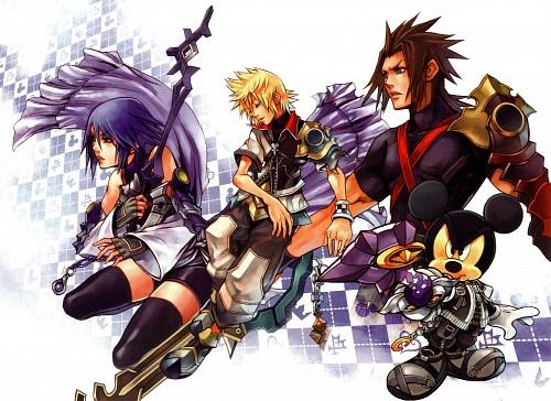 Square Enix, Kingdom Hearts Series Memorial Ultimania, Kingdom Hearts, Terra, Mickey Mouse