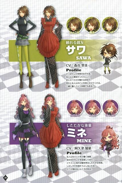 Mai Hanamura, Idea Factory, AMNESIA, Mine (AMNESIA), Sawa (AMNESIA)