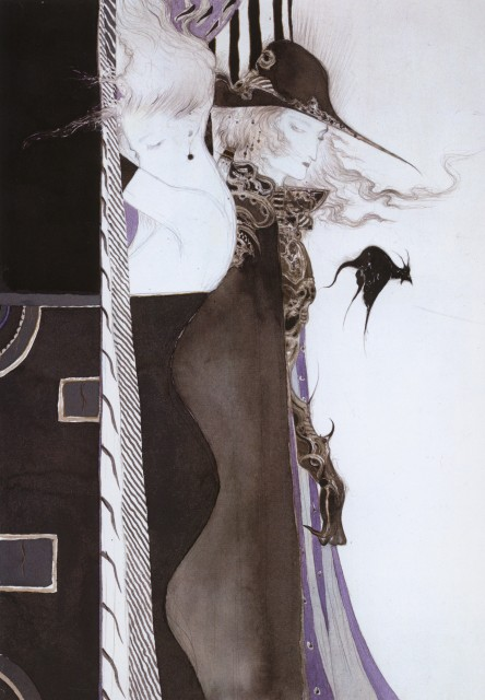 Yoshitaka Amano, Vampire Hunter D, Coffin: The Art of Vampire Hunter D, Tae, D (Vampire Hunter D)