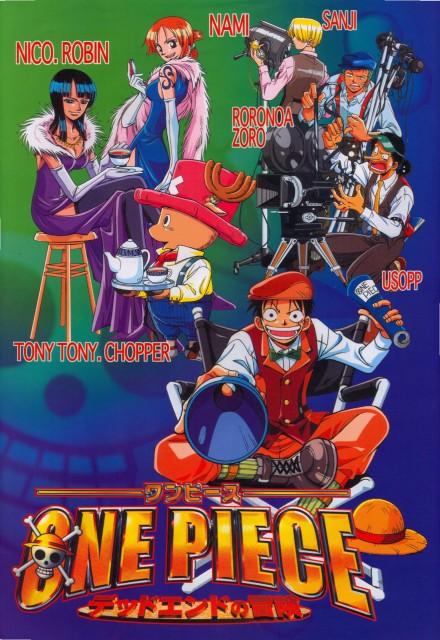 Eiichiro Oda, One Piece, Nami, Sanji, Nico Robin