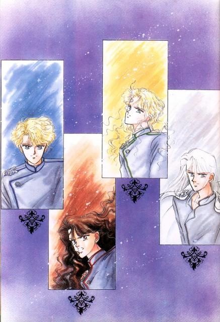 Naoko Takeuchi, Bishoujo Senshi Sailor Moon, BSSM Original Picture Collection Vol. I, Kunzite, Zoicite