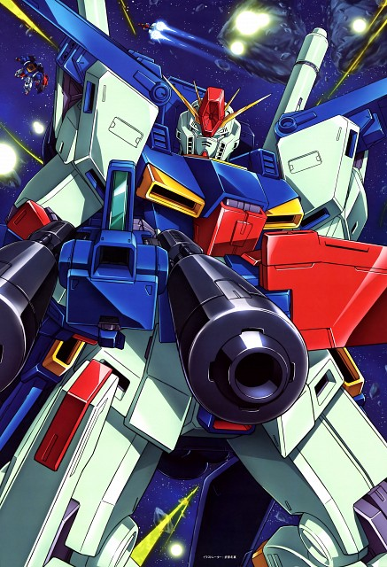 Sunrise (Studio), Mobile Suit Gundam Double Zeta, Mobile Suit Gundam - Universal Century, Gundam Perfect Files